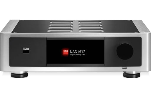 NAD M 12 - Audiophile MQA Streamer Preamplifier - The Audio Company