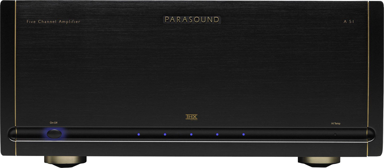 Parasound A51 Halo - Home Theatre Five Channel Power Amplifier - The Audio Company