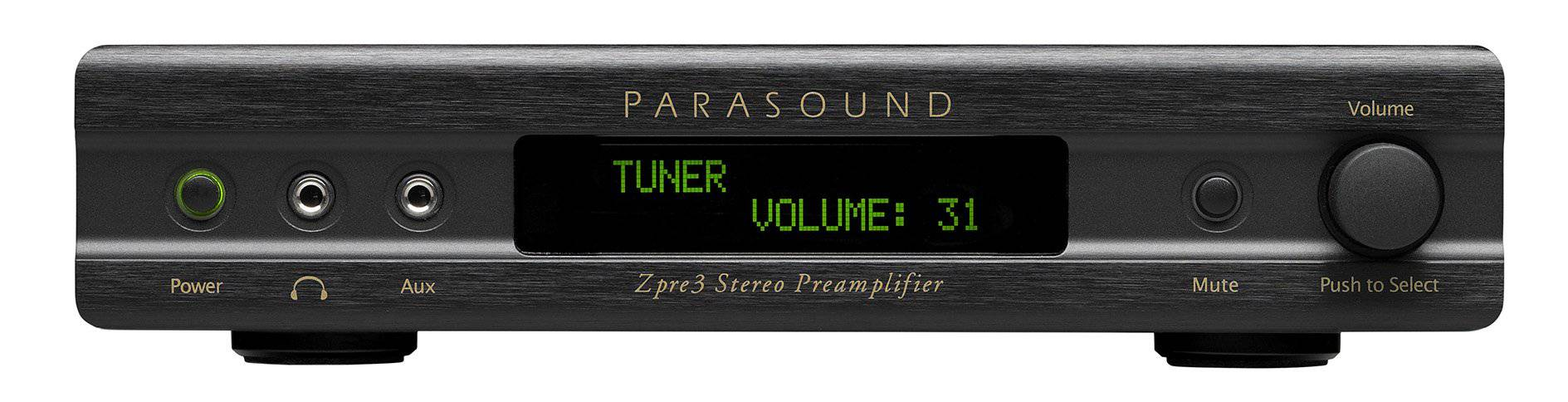Parasound Zpre3 - Stereo Preamplifier - The Audio Company