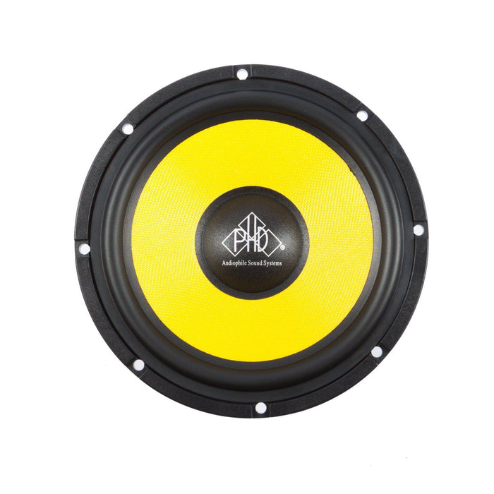 PHD Audiophile STUDIO 6.1 Competition KIT - 6.5inch 2way Component Speaker Set - The Audio Company