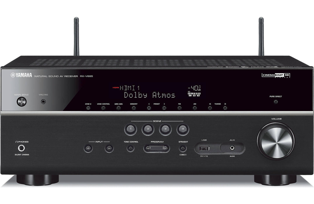 Yamaha RX-V685 - 7.2 Channel Wireless AV Receiver - The Audio Company