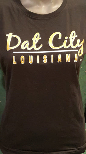 Dat City Black & Gold Shirt