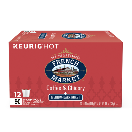 French Market Coffee Coffee & Chicory Single Serve Cups
