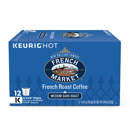 French Market Coffee French Roast Single Serve Cups