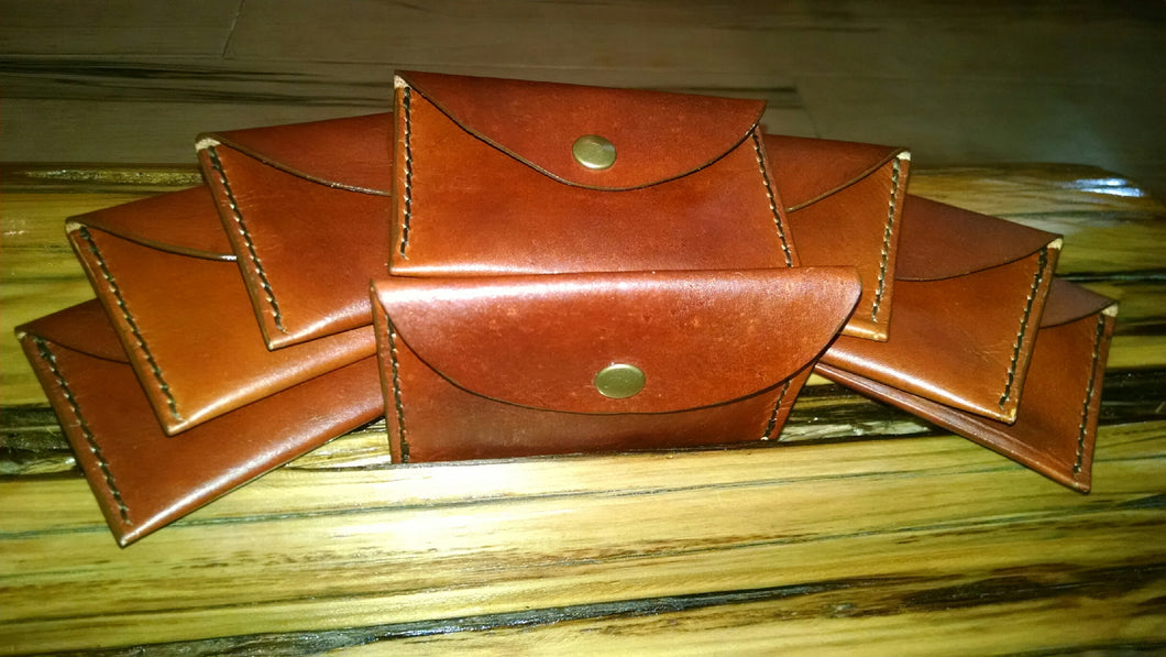 Leather Snap Pouch