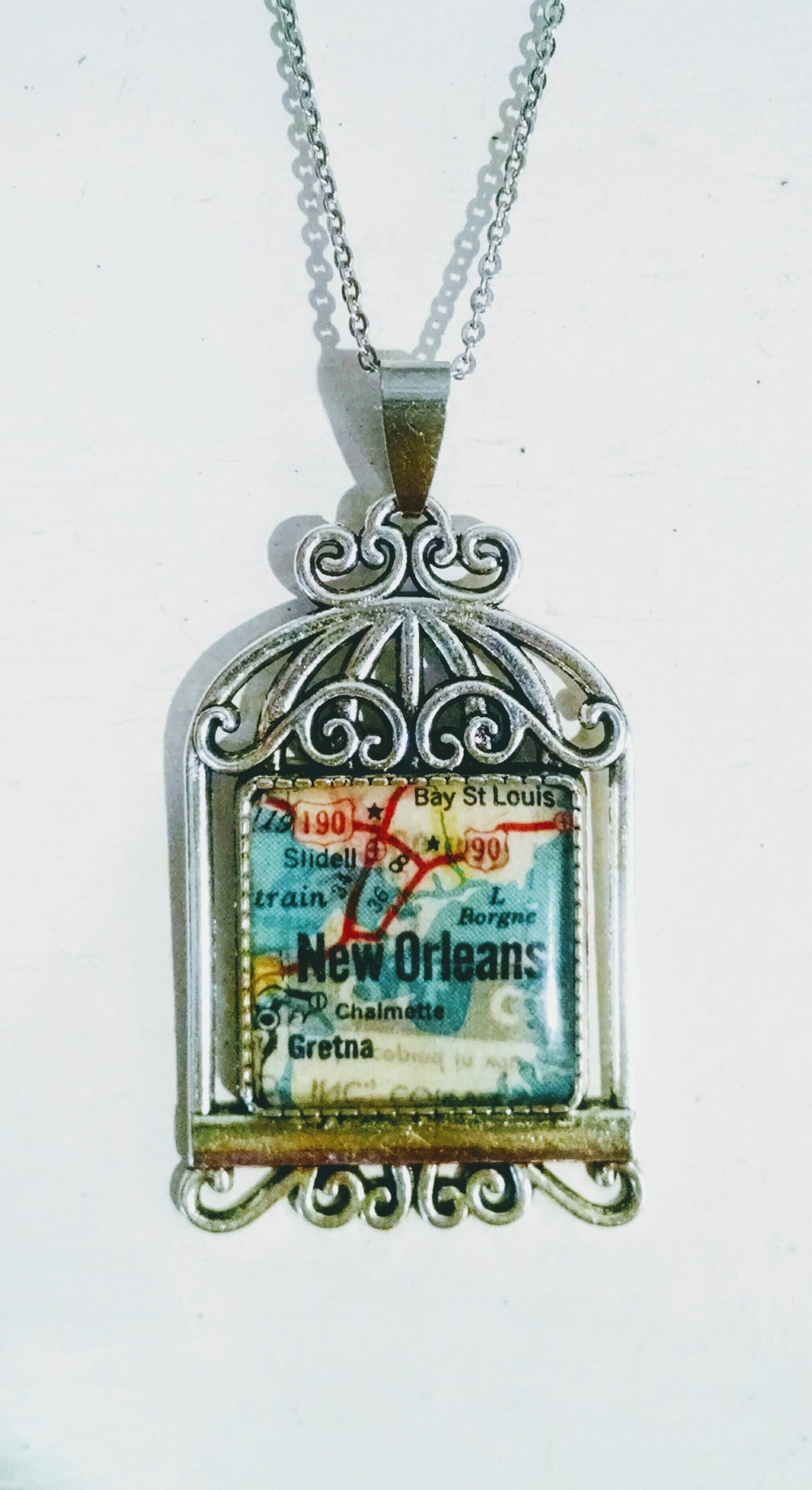 Vintage New Orleans Necklace