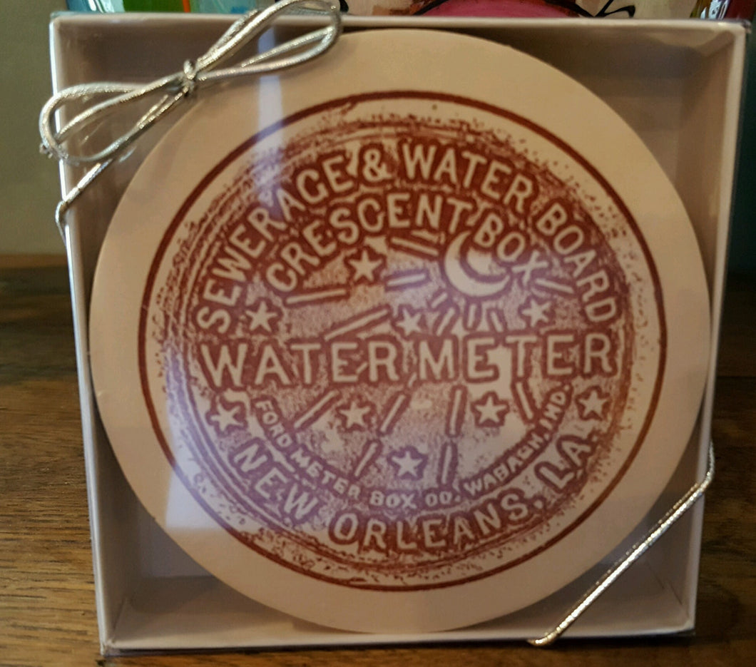New Orleans Water Meter Coasters (Pack of 12)