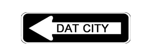 Dat City Bumper Sticker