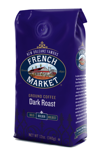 French Market Coffee Dark Roast Bag