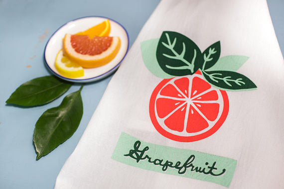Flour Sack Towel - Louisiana Citrus