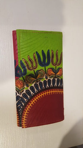 Lady's Handmade Cloth Covered Purse