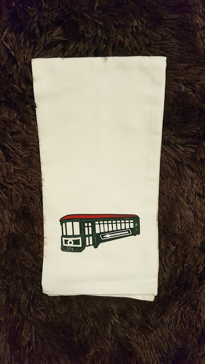 Streetcar Tea Towel