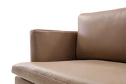 Giovanni's Slight Leather 2-Seater Sofa