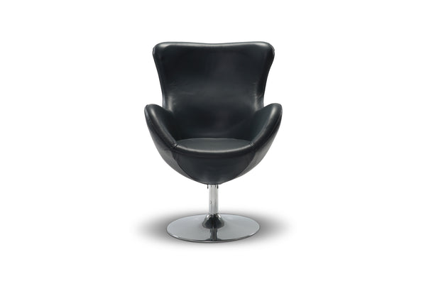 Blair Leather Egg Chair