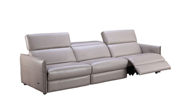 Archie Leather Recliner 3-Seater Sofa