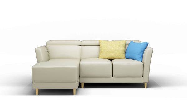 Rowan Leather Corner Sofa