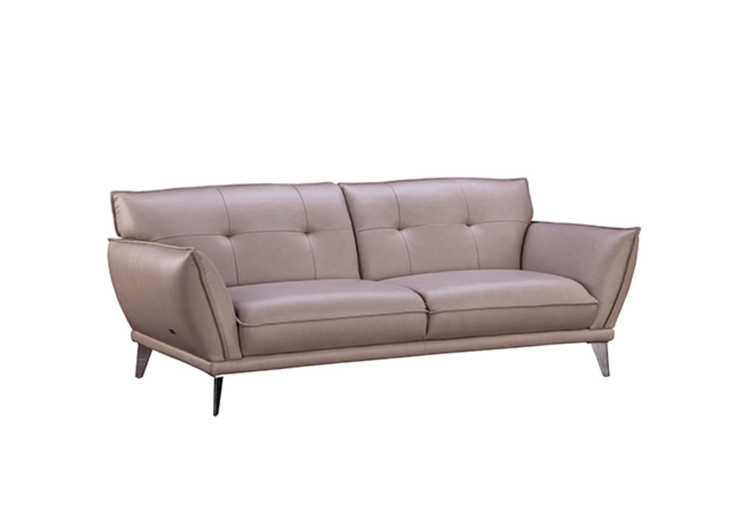 Walden Leather 3-Seater Sofa