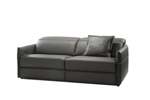 Archie Leather Recliner 2-Seater Sofa