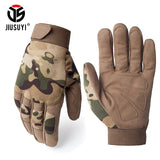Military Anti-skid Camo Gloves