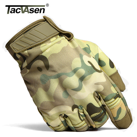 Military Combat Camouflage Gloves