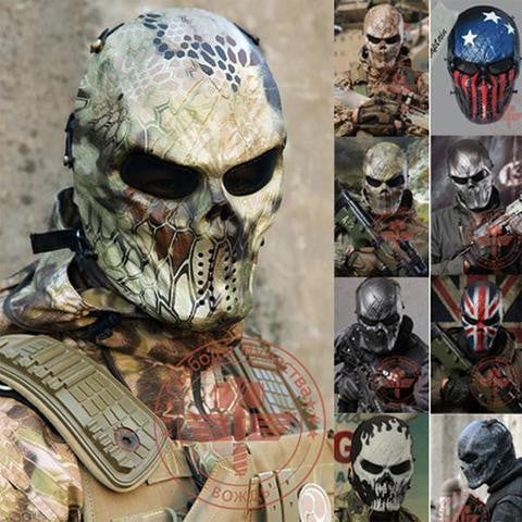 TACTICAL-TEAMS™ | CAMO GHOST MASKS - Flash Sale
