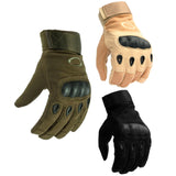 Men's Hard Knuckle Full Finger Gloves