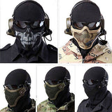 Camouflage Protective Half Mask