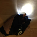 Outdoor Finger-less LED Gloves