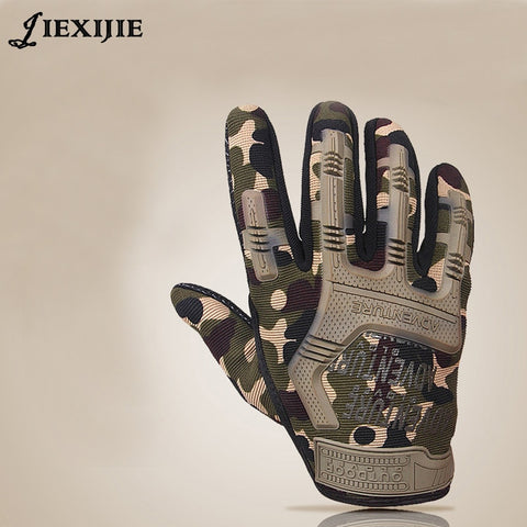 Camouflage Full Protection Gloves