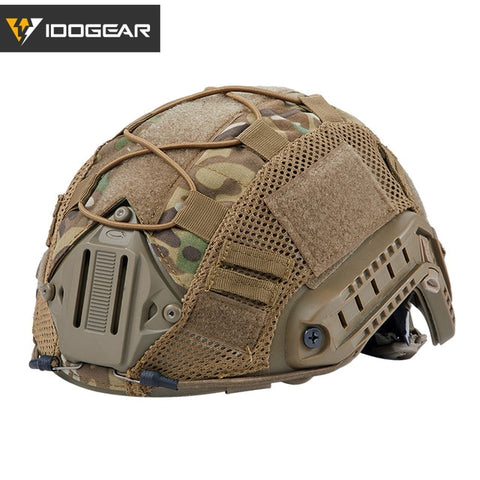 Tactical Helmet - Camo Headwear for Hunting, Airsoft, Tactical Training
