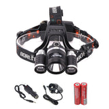 8000LM Headlamp Flashlight