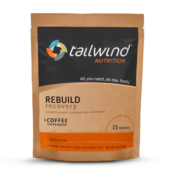 Tailwind Nutrition Rebuild Recovery 15-Serving Bag (Caffeinated)