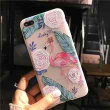Silikone Flamingo Sketchy iPhone Cover,  - trendr.dk