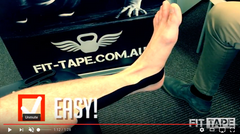 How To Tape Tibialis Posterior VIDEO