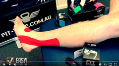 How To Tape Peroneal Tendon Video