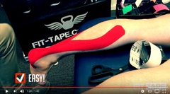 How To Tape A Calf Video