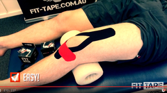 How To Tape A Knee Video