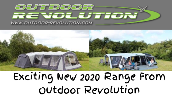 New Outdoor Revolution Family Tents For 2020