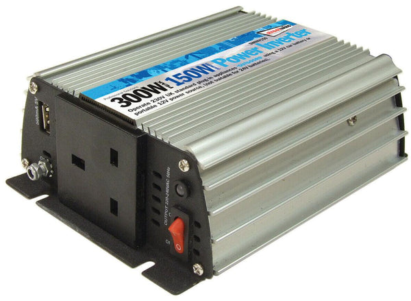 STREETWIZE 150W CONTINUOUS POWER/ 300W PEAK POWER INVERTER-Campers and Leisure-Campers and Leisure