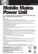 5 Way Mobile Mains Power Unit | Camping Mains Unit-Leisurewize-Campers and Leisure