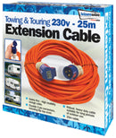 25 Metre Camping Extension Cable-Leisurewize-Campers and Leisure