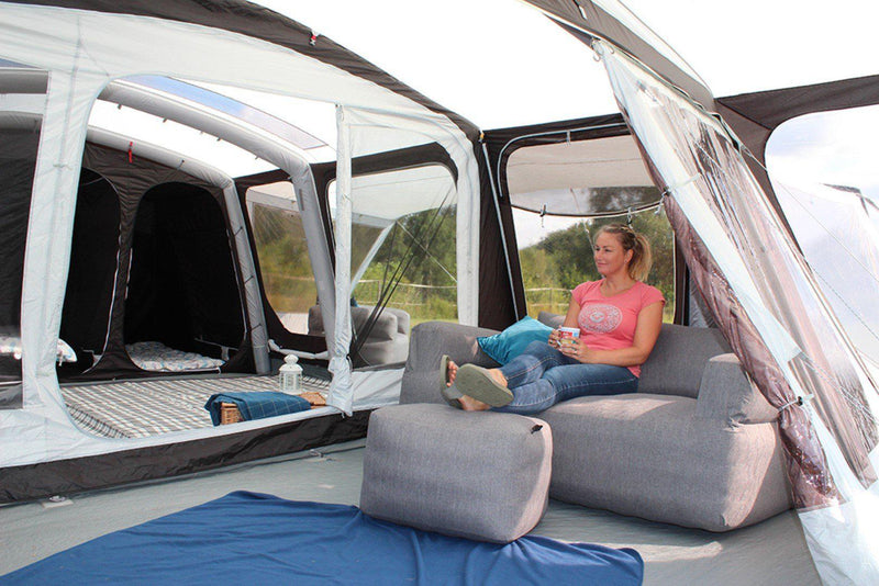 Outdoor Revolution Ozone 6.0 Xtr Safari | Premium Family Air Tent - 2021-Outdoor Revolution-Campers and Leisure