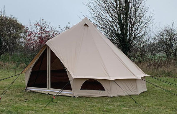 Quest Elite Signature 4M Bell Tent | Premium 100% Cotton Bell Tent-Quest-Campers and Leisure