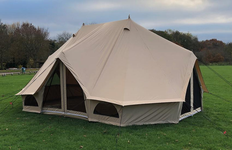 Quest Elite Signature Emperor Bell Tent | Premium 100% Cotton Bell Tent-Quest-Campers and Leisure