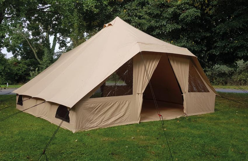 Quest Elite Signature Touareg Bell Tent | Premium 100% Cotton Bell Tent-Quest-Campers and Leisure