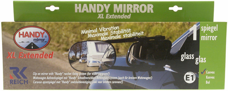 Reich Handy Mirror XL Extended | Towing Mirrors-Reich-Campers and Leisure