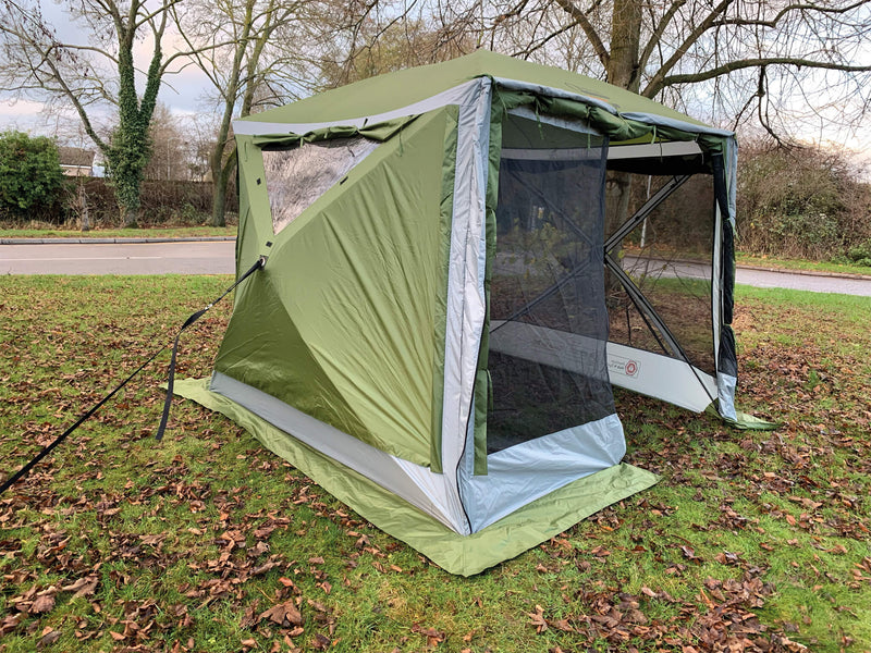 Quest Screenhouse 4 Pro | Instant Gazebo - 2021-Quest-Campers and Leisure