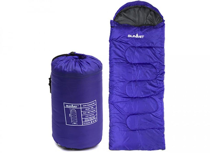 Summit Junior Sleeping Bag-Summit-Campers and Leisure