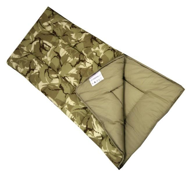 Sunncamp Camouflage Junior Sleeping Bag-Sunncamp-Campers and Leisure