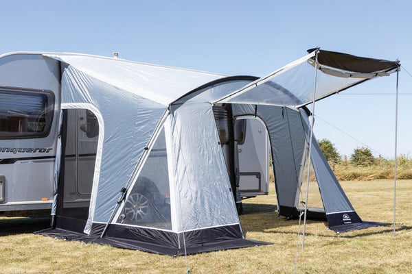 Sunncamp Swift Deluxe 325 - 2020 | Poled Awning-Sunncamp-Campers and Leisure